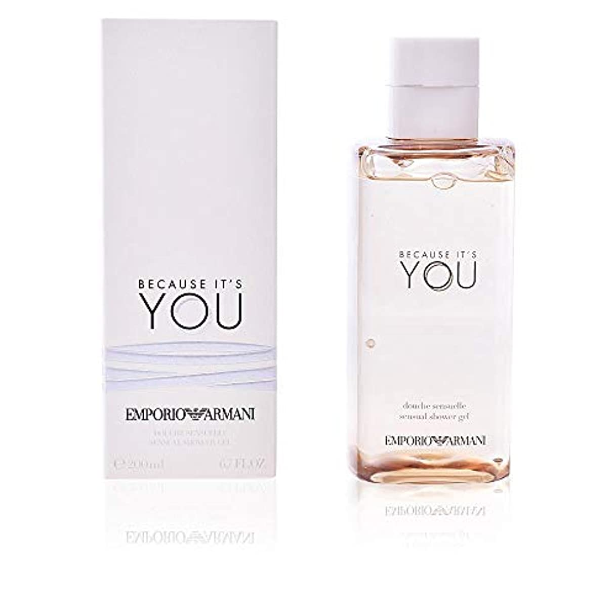 石領域モーテルジョルジオアルマーニ Emporio Armani Because It's You Sensual Shower Gel 200ml/6.7oz並行輸入品