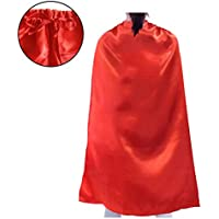Opromo Satin Superhero Capes,Halloween Costumes and Dress Up for Kids & Adults