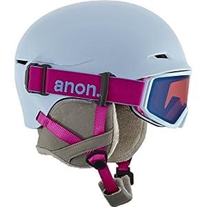 Anon(アノン) ヘルメット スキー スノーボード ジュニア ボーイズ キッズ DEFINE S/Mサイズ Arctic Blue 152351 ゴーグルセット Boa180° インジェクション構造