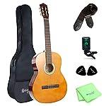 クラシックギター アコースティック Strong Wind ナイロン 弦 小学生 大人用 ギター初級 (39インチ)