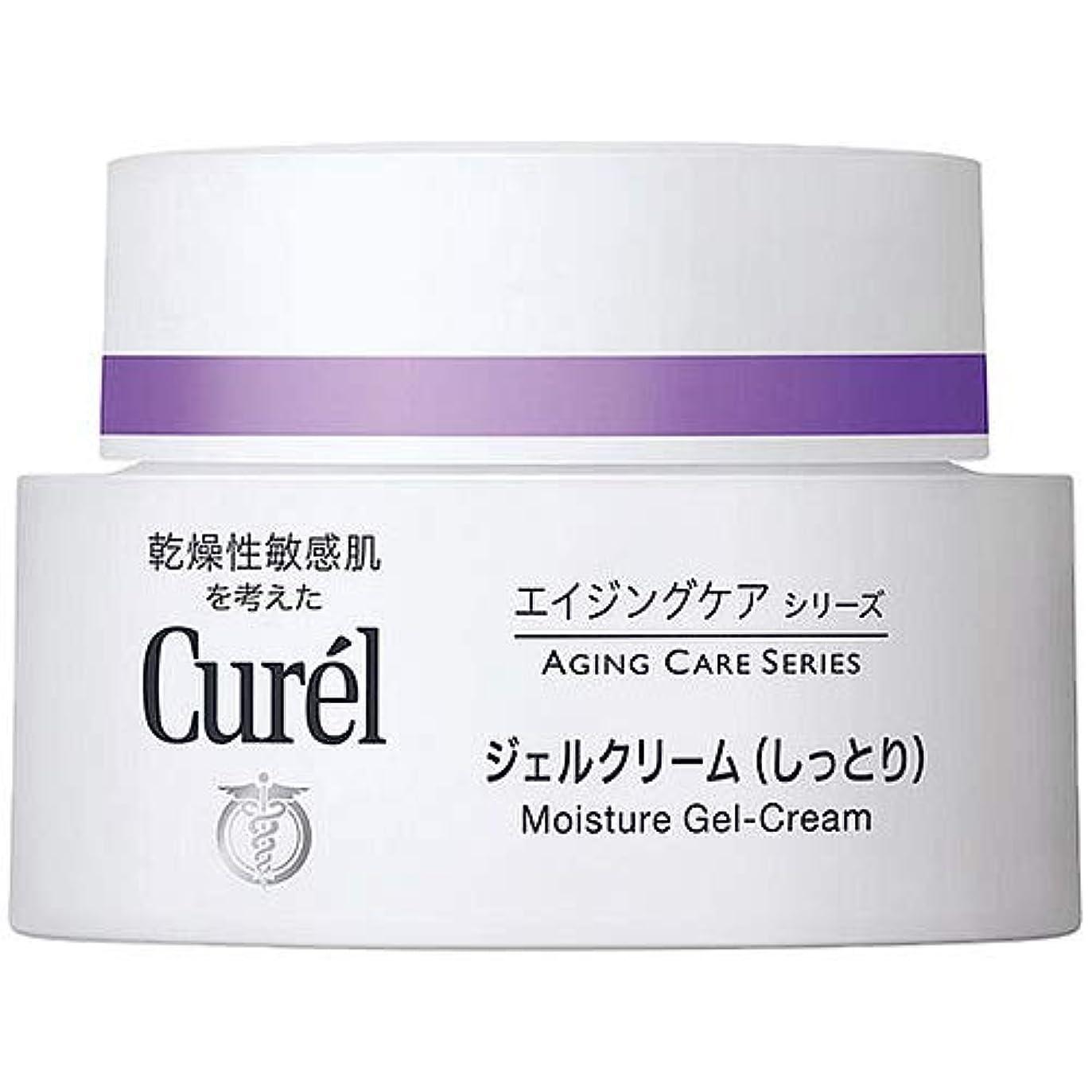 キュレル CUREL エイジングケアシリーズ ジェルクリーム (しっとり) 40g [並行輸入品]