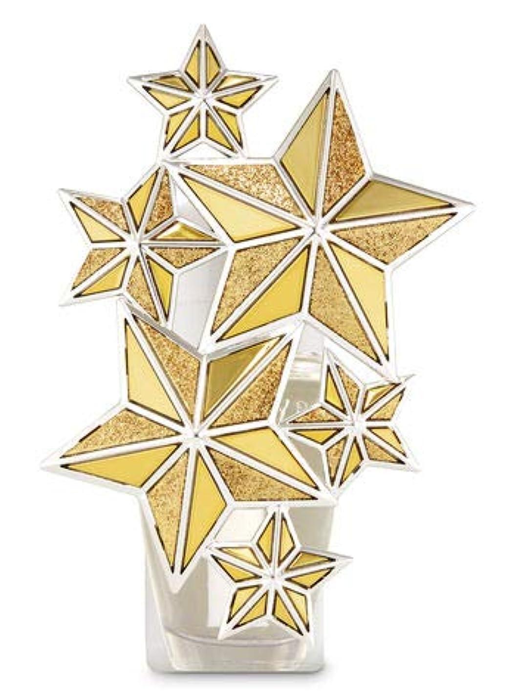 違反する無駄な裏切り者【Bath&Body Works/バス&ボディワークス】 ルームフレグランス プラグインスターター (本体のみ) ゴールドスター ナイトライト Wallflowers Fragrance Plug Gold Star Night...