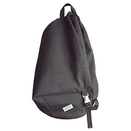 Youchan(ヨウチャン) お洒落 デザイン リュック リュックサック バックパック バッグ かばん A4 通勤 通学 遠足 (ブラック)