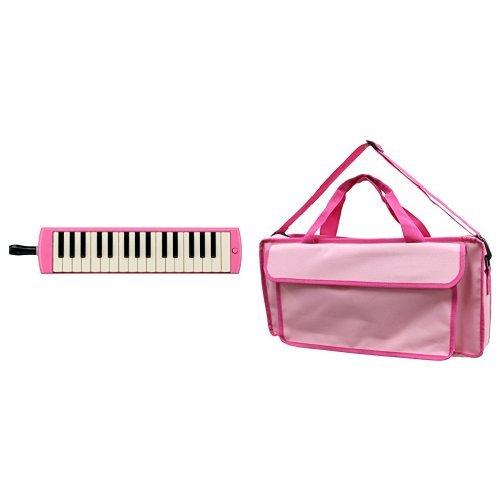 YAMAHA ヤマハ PIANICA ピアニカ 32鍵 ピンク P-32EP + 鍵盤ハーモニカバッグ[Peach Pink] 付属セット