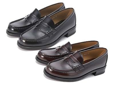 [ハルタ] HARUTA レディース トラディショナル ローファー 通学 学生 学校 靴 3E 4505 ジャマイカ 22.5cm