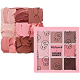 LILYBYRED Mood Cheat Kit Eyeshadow Palette Pink Sweets告発色、高密着、告知の中独歩的な高クオリティアイシャドウパレット9color(並行輸入品)