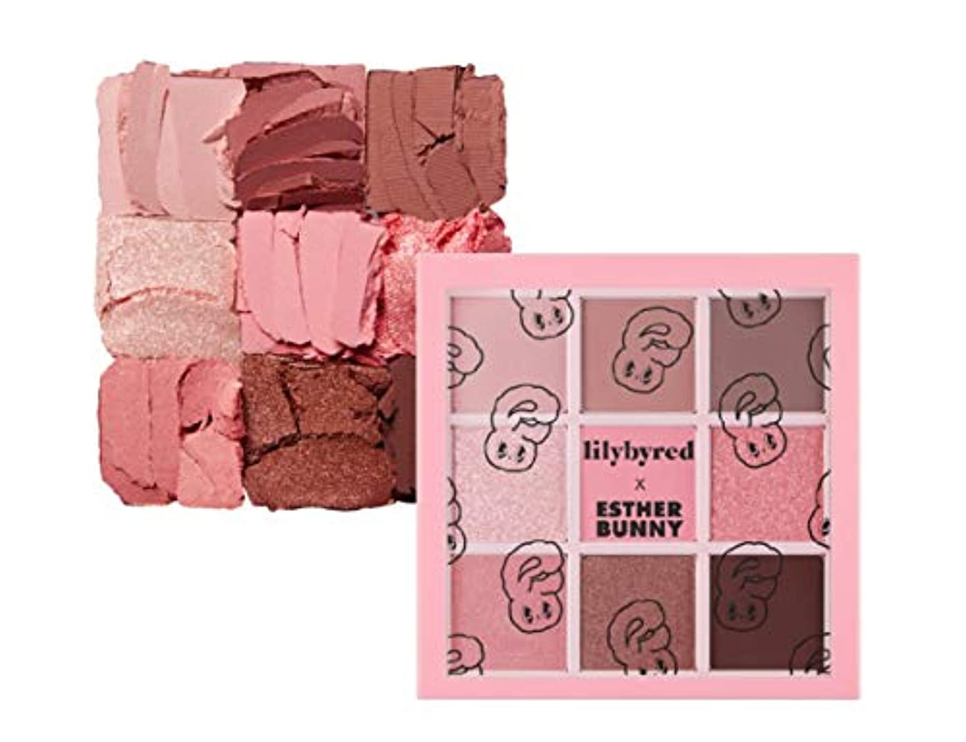地上で豪華な靄LILYBYRED Mood Cheat Kit Eyeshadow Palette Pink Sweets告発色、高密着、告知の中独歩的な高クオリティアイシャドウパレット9color(並行輸入品)