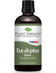 Plant Therapy Eucalyptus Dives (Peppermint) Essential Oil 100 mL (3.3 oz) 100% Pure, Undiluted, Therapeutic Grade