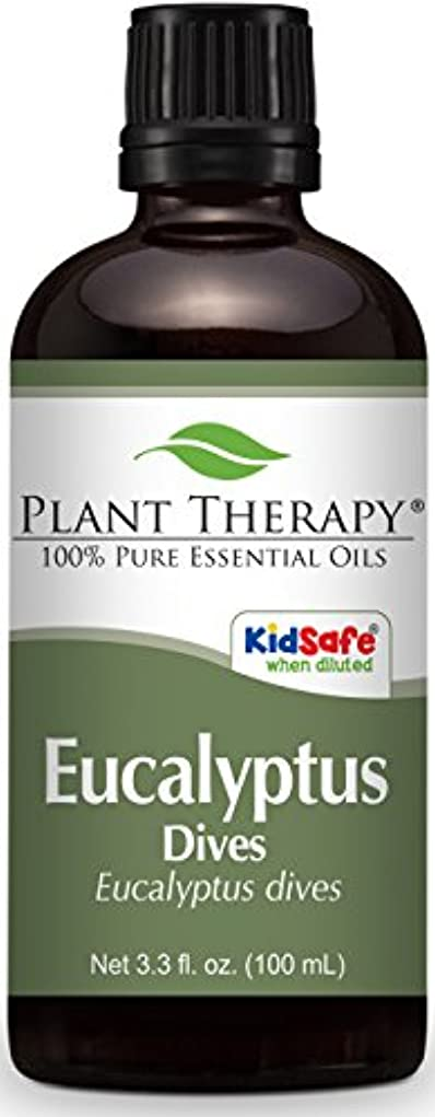 組立イディオム母Plant Therapy Eucalyptus Dives (Peppermint) Essential Oil 100 mL (3.3 oz) 100% Pure, Undiluted, Therapeutic Grade
