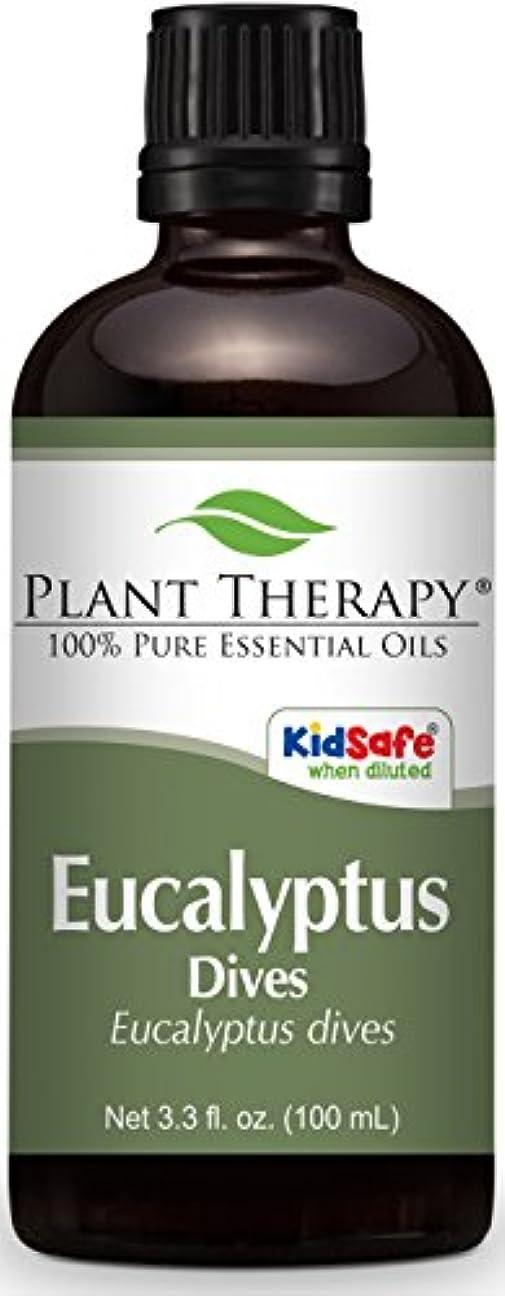 間欠死のぞき見Plant Therapy Eucalyptus Dives (Peppermint) Essential Oil 100 mL (3.3 oz) 100% Pure, Undiluted, Therapeutic Grade