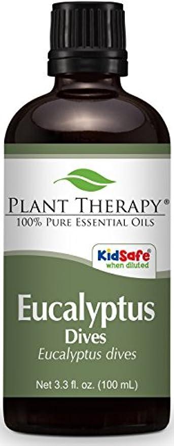 手のひら呼吸民族主義Plant Therapy Eucalyptus Dives (Peppermint) Essential Oil 100 mL (3.3 oz) 100% Pure, Undiluted, Therapeutic Grade