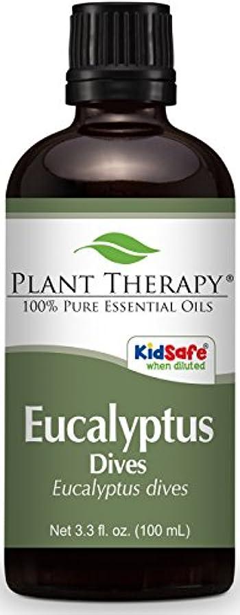 左不均一ガスPlant Therapy Eucalyptus Dives (Peppermint) Essential Oil 100 mL (3.3 oz) 100% Pure, Undiluted, Therapeutic Grade