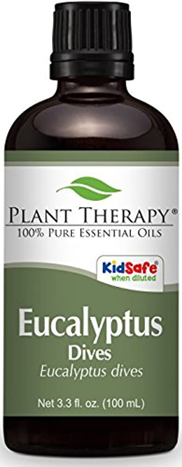 進化バイオリニスト立ち寄るPlant Therapy Eucalyptus Dives (Peppermint) Essential Oil 100 mL (3.3 oz) 100% Pure, Undiluted, Therapeutic Grade