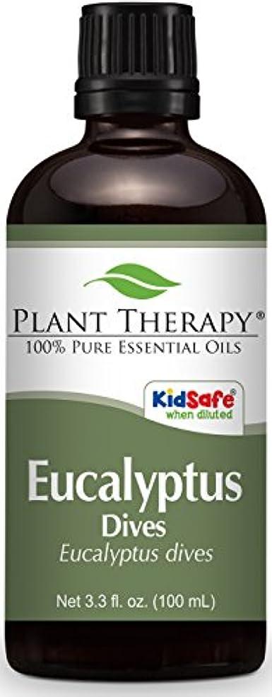 罪人驚いた告白するPlant Therapy Eucalyptus Dives (Peppermint) Essential Oil 100 mL (3.3 oz) 100% Pure, Undiluted, Therapeutic Grade