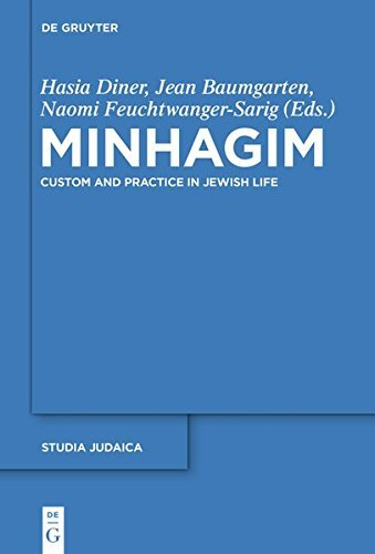 Minhagim: Custom and Practice in Jewish Life (Studia Judaica)