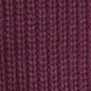 (バレッタ) Valletta メンズ 畔編み 長袖 クルーネック ニットセーター ストレッチ 無地 [メンズ] ワイン(クルー) Mサイズ
