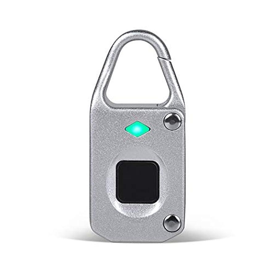 一族不足スライス指紋南京錠ハンドバッグ、ジム、ドア、バックパック、自転車、荷物、スーツケースのためのUSB充満が付いている防水携帯用保証ロック