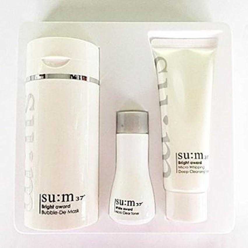 遠征デコレーション喜びSu:m37°(スム37) Su:m 37 White Bright Award Bubble-De Mask Special Set 企画セット [並行輸入品]
