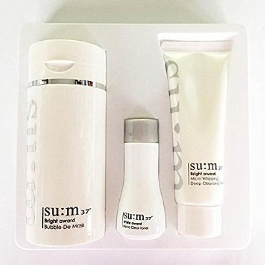 無臭パイント舌Su:m37°(スム37) Su:m 37 White Bright Award Bubble-De Mask Special Set 企画セット [並行輸入品]