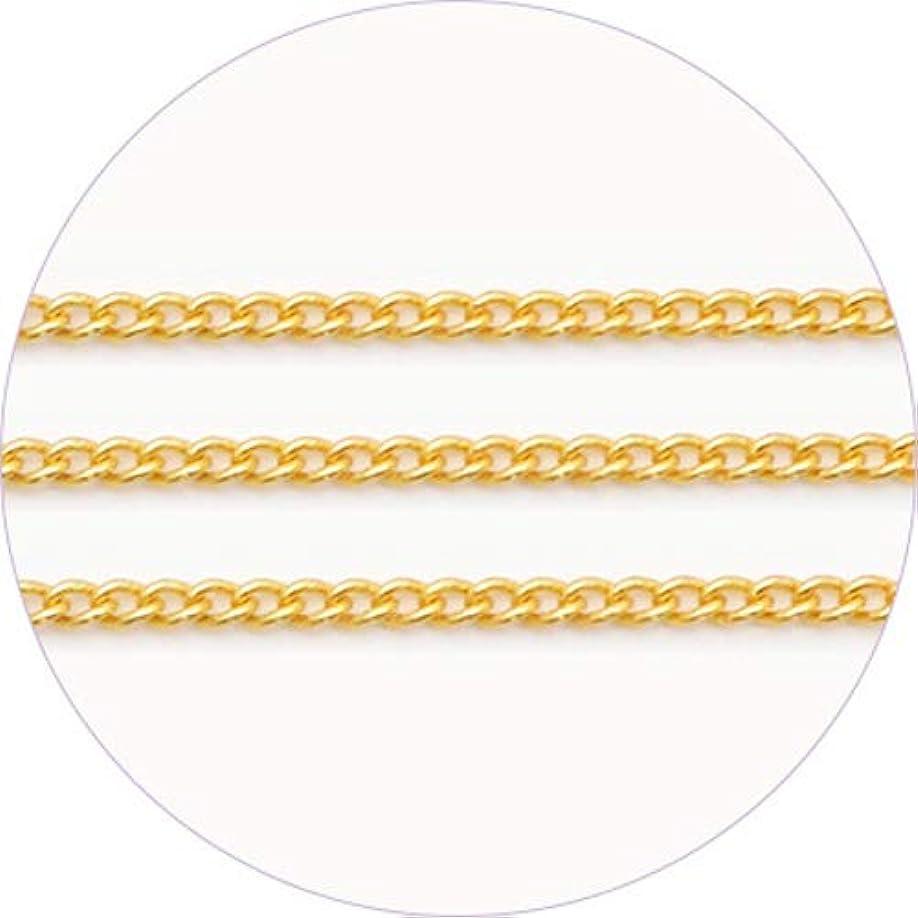 雇用者代わりにを立てる燃料ageha アートチェーン ゴールド0.9mm 【アート・ネイル用品】