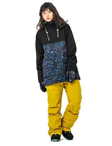 43DEGREES 全20パターン スノーボードウェア スキーウェア レディース 上下セット 37.BMJK + MUPT/Lサイズ