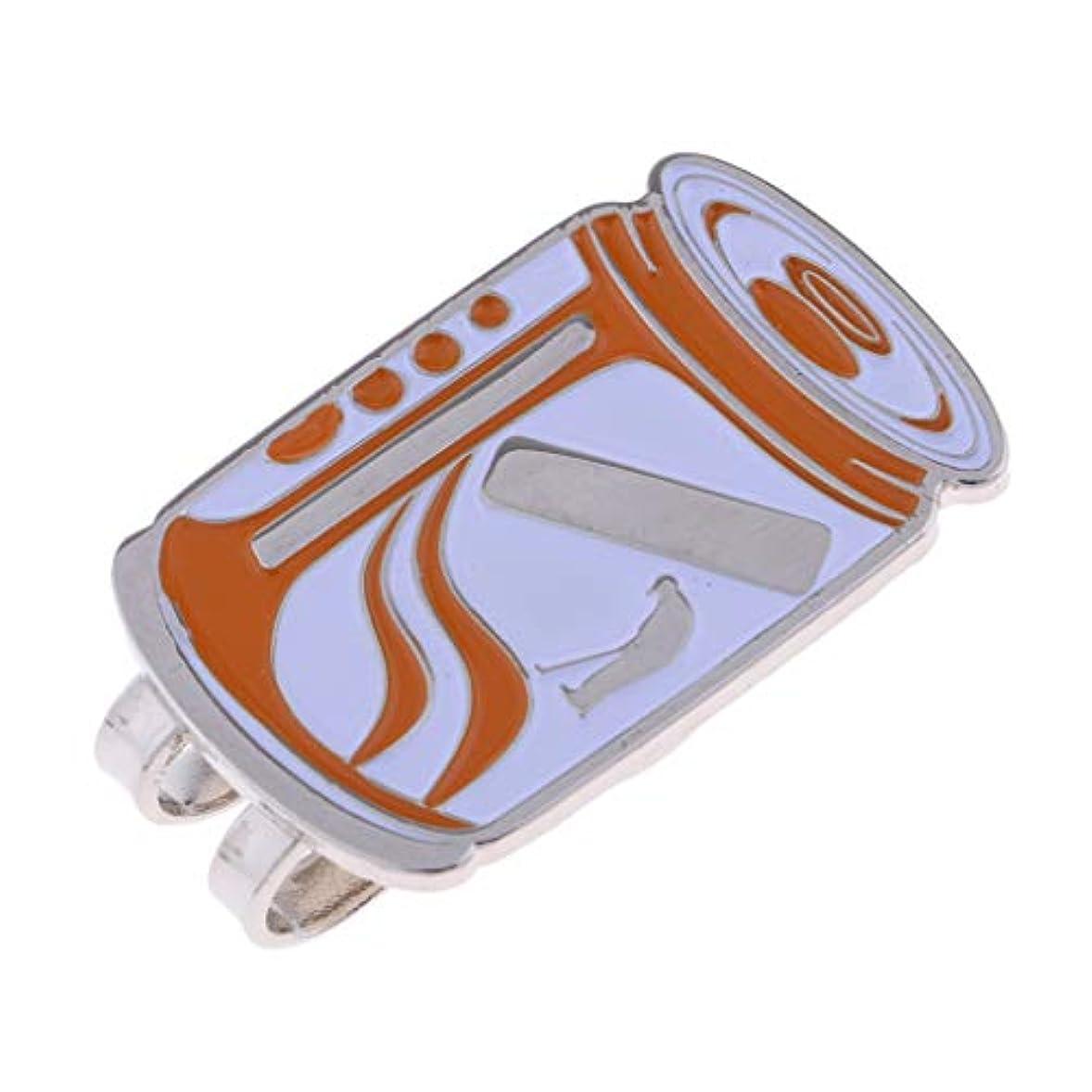 プレビュー狂った広大なT TOOYFUL ボールマーカー 亜鉛合金 磁気帽子クリップ ゴルファーアクセサリー 装飾 全11選択