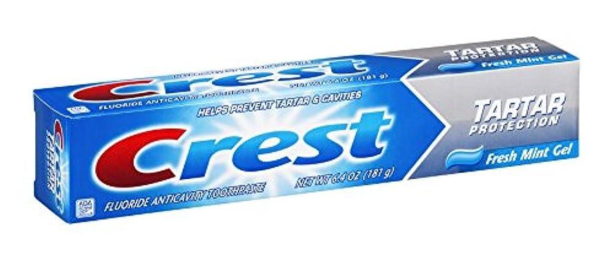 実行統合する廃止Crest タルタルジェルWHTサイズ6.4zフレッシュミントタルタル保護ジェル