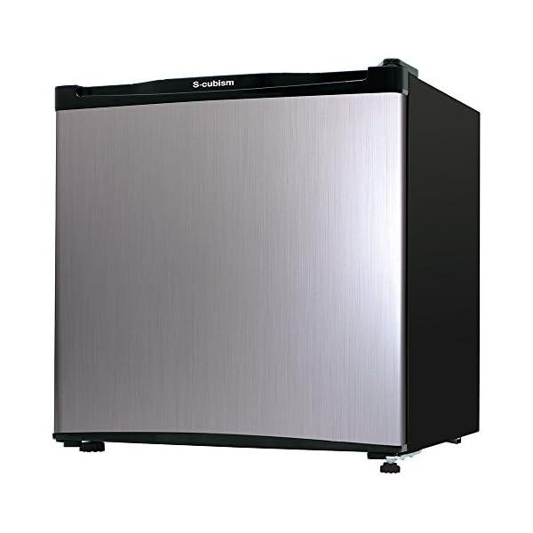 エスキュービズム 1ドア冷蔵庫 WR-1046S...の商品画像