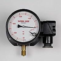 マイクロスイッチ接点付圧力計(100Φ) JM11-131(L)×-0.1~0MPa 真空計(負圧計)