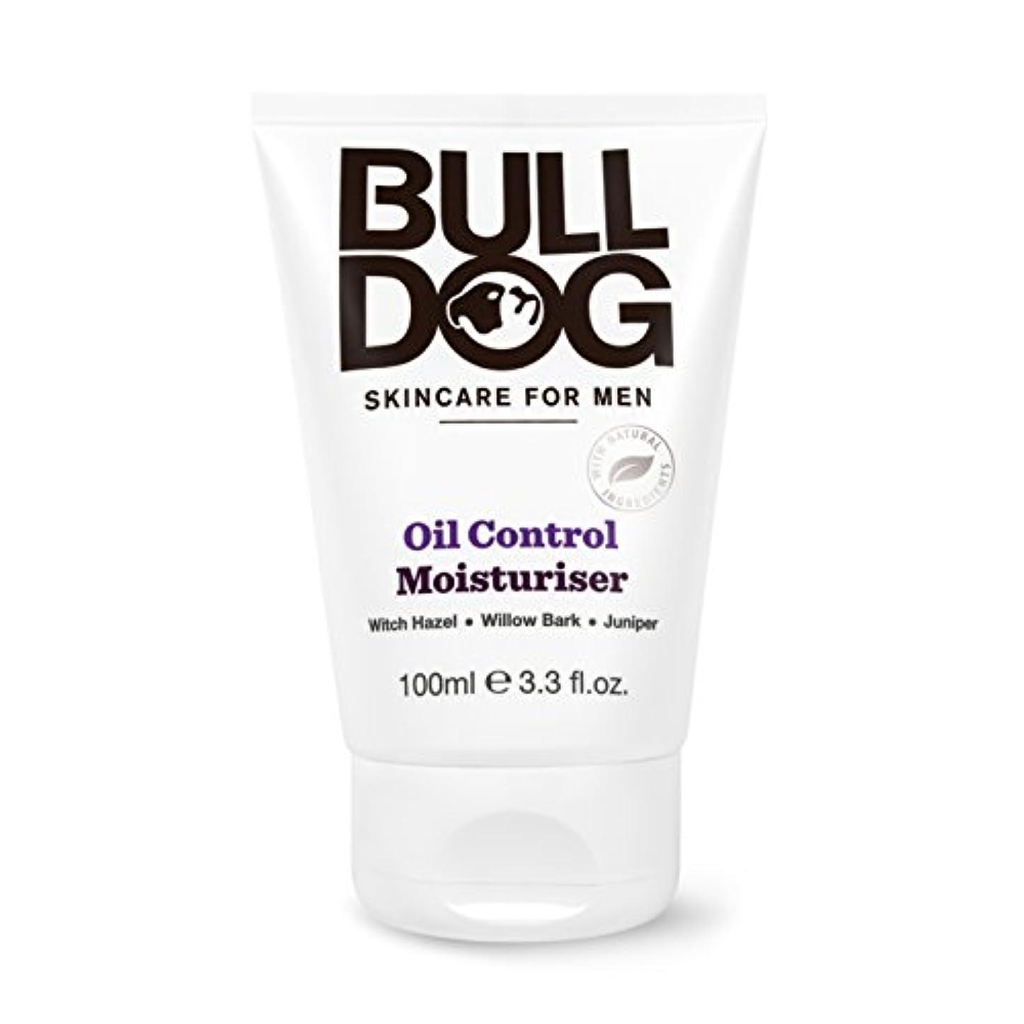 人差し指忍耐メンタリティブルドッグ Bulldog オイルコントロール モイスチャライザー(保湿クリーム) 100mL