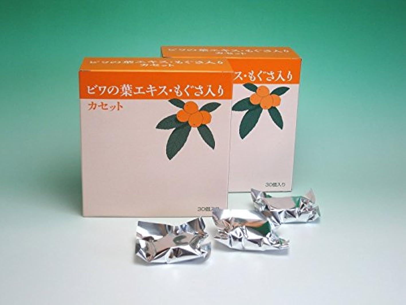 スティーブンソン無駄バース枇杷葉温灸器?ユーフォリアQ専用「枇杷葉エキス?もぐさ入りカセット(30個入)」2箱セット+3個おまけ付き