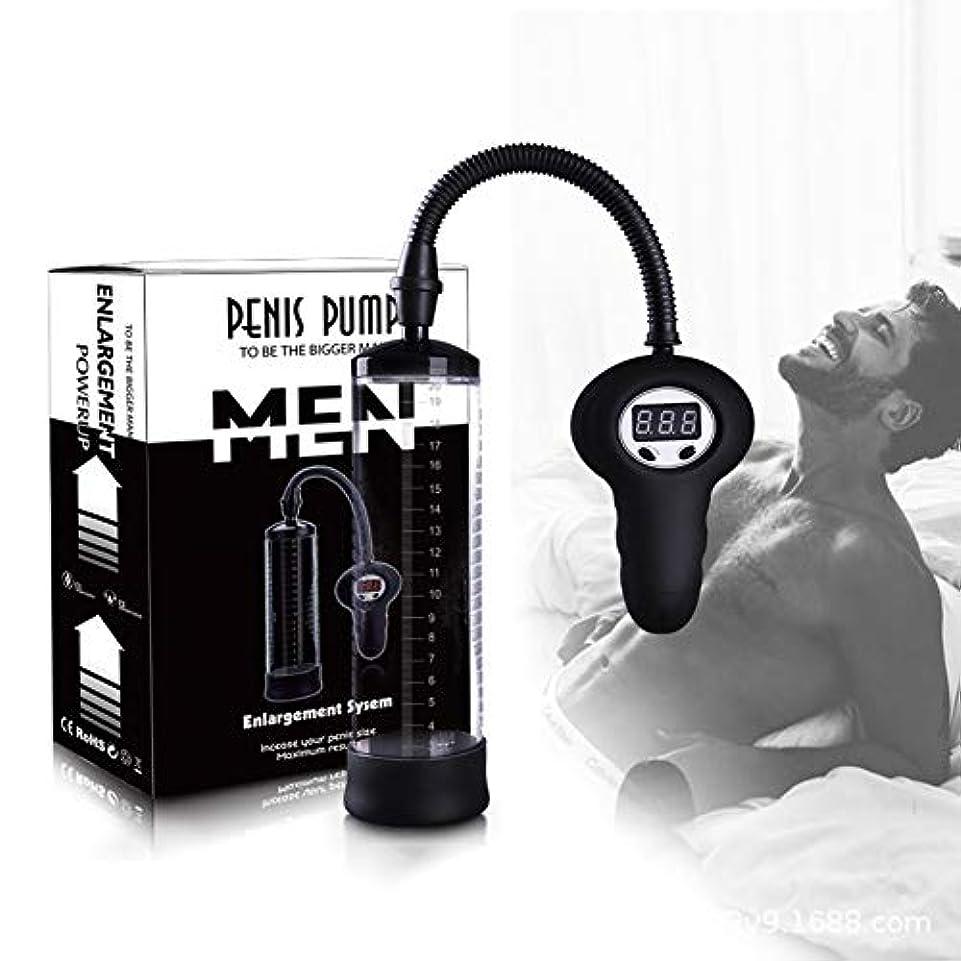 立法過去回転するKGJJHYBGTOY 手動操作装置男性ペン成長ポンプ RELAX MASSAGE BODY