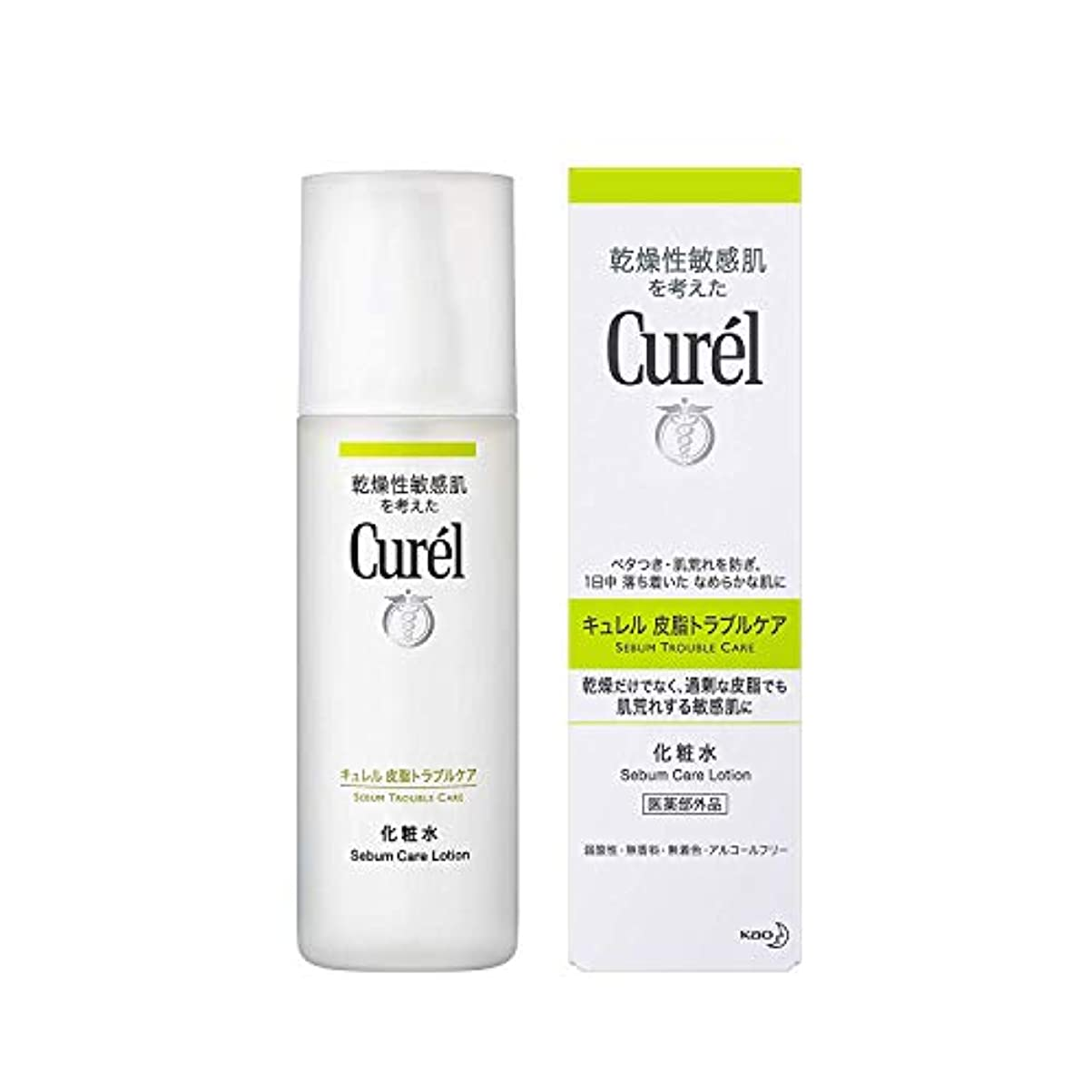 【花王】キュレル 皮脂トラブルケア化粧水(150ml) ×10個セット