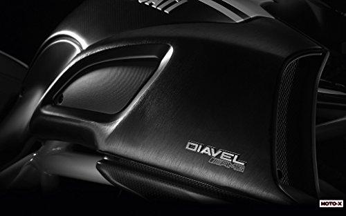 Motorcycle Ducati Diavel Amg 201103–11x 17ポスター