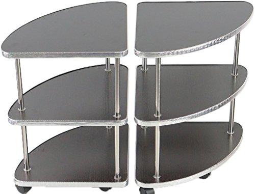 [해외]재떨이없이 탁자 2 다리 세트 마작 탁에 최적 (MJ-REVO 시리즈)/Ashtray without side table 2 legs set Ideal for mah-jong table (MJ-REVO series)