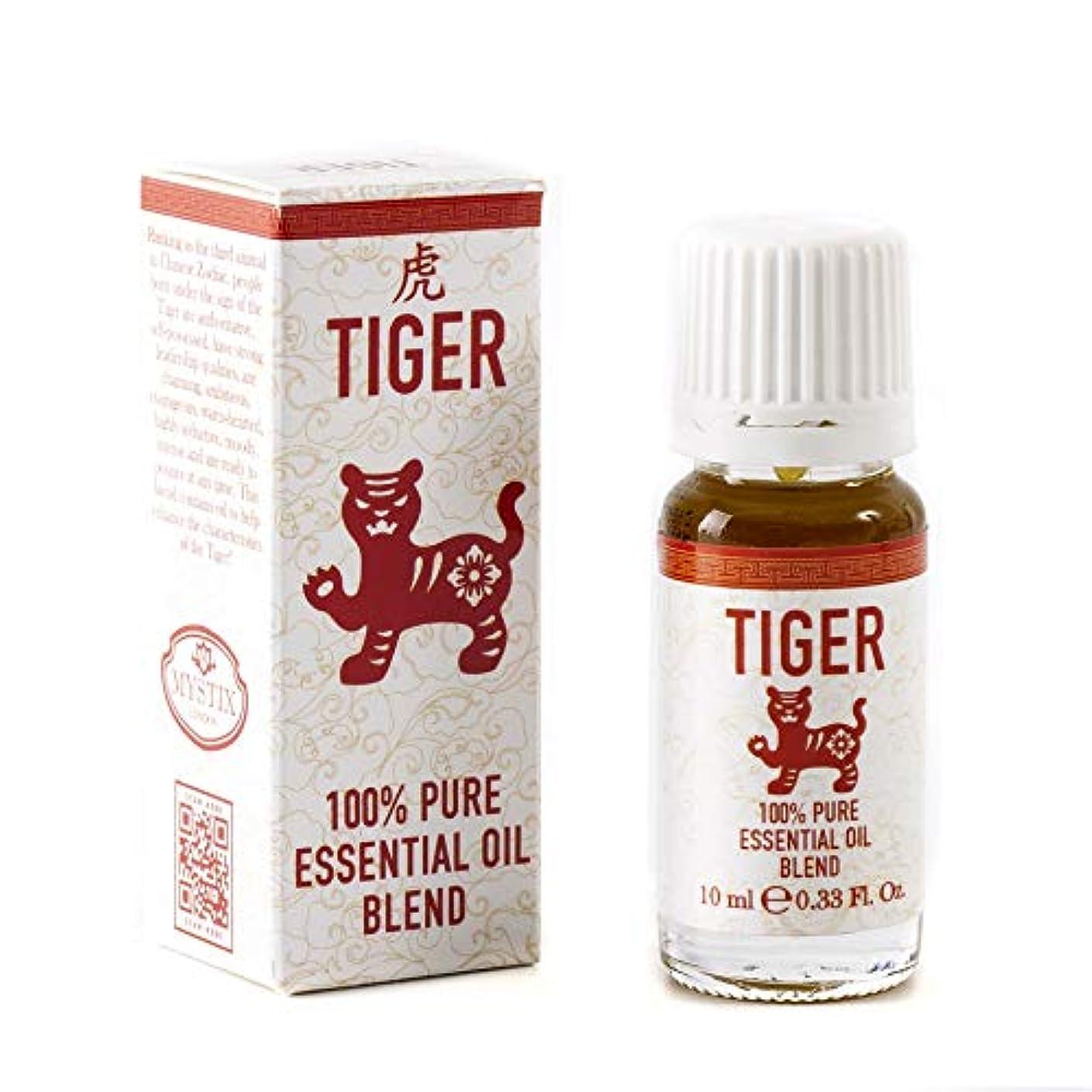 大混乱戦士冷淡なMystix London   Tiger   Chinese Zodiac Essential Oil Blend 10ml