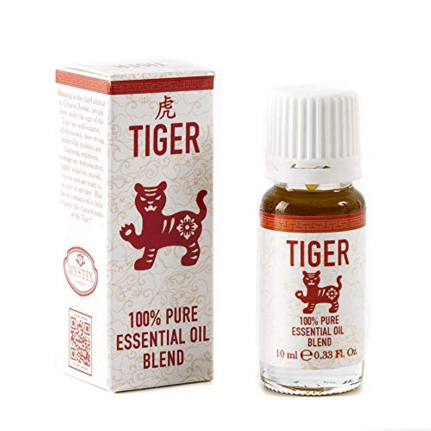 ポーターヒューマニスティック強度Mystix London   Tiger   Chinese Zodiac Essential Oil Blend 10ml