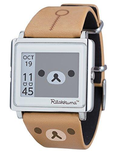 [エプソン スマートキャンバス]EPSON smart canvas リラックマ 腕時計 W1-RK10110