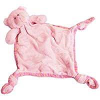 Russ Berrie My First Teddy Comforter Blankie, Pink by Russ Berrie