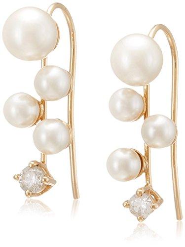 [グロッセ グラッセ] Grosse Glace Stylish Pearl ピアス ゴールド GA61190