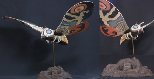 X-PLUS Toho large monsters series Mothra adults (1961 version) the boy Rick limited edition