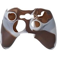 SODIAL(R) シリコーンカバー シリコーンカバーケーススキン Xbox 360コントローラーカモ用