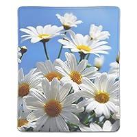 マウスパッド ゲームパッド ゲームプレイマット ワイヤレスマウスパッド ヒナギクの花空の花 オフィス最適 高級感 おしゃれ 流行