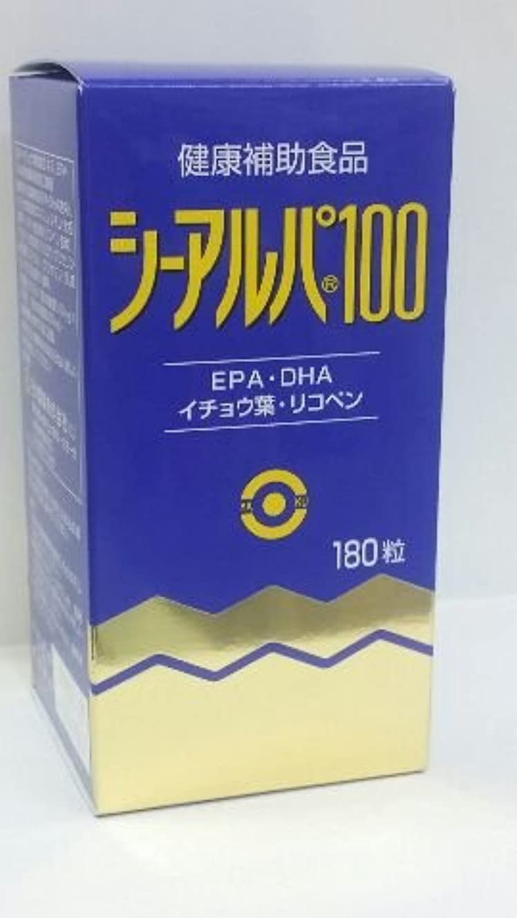 梨避難する症候群「シーアルパ100」180粒6個パックで15%割りひき(健康増進食品)