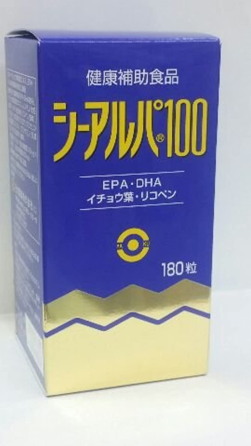 店員不純除外する「シーアルパ100」180粒6個パックで15%割りひき(健康増進食品)