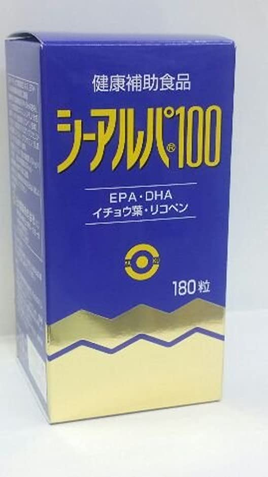 告白入口カーテン「シーアルパ100」180粒6個パックで15%割りひき(健康増進食品)