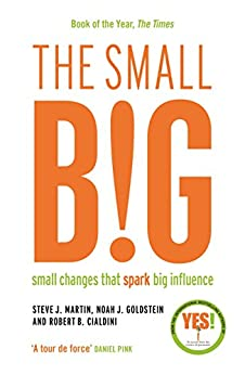 The small BIG: Small Changes that Spark Big Influence by [Martin, Steve, Goldstein, Noah, Cialdini, Robert B.]