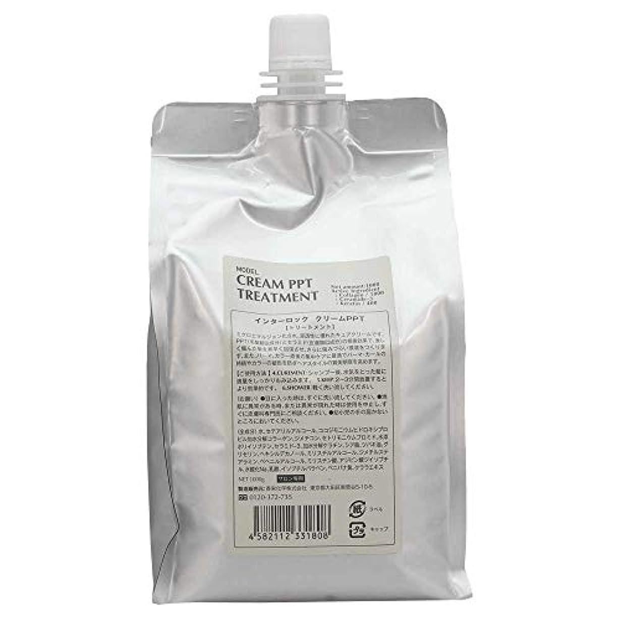 一貫性のないいたずらなストラップ香栄化学 クリームPPT トリートメント レフィル 1000g