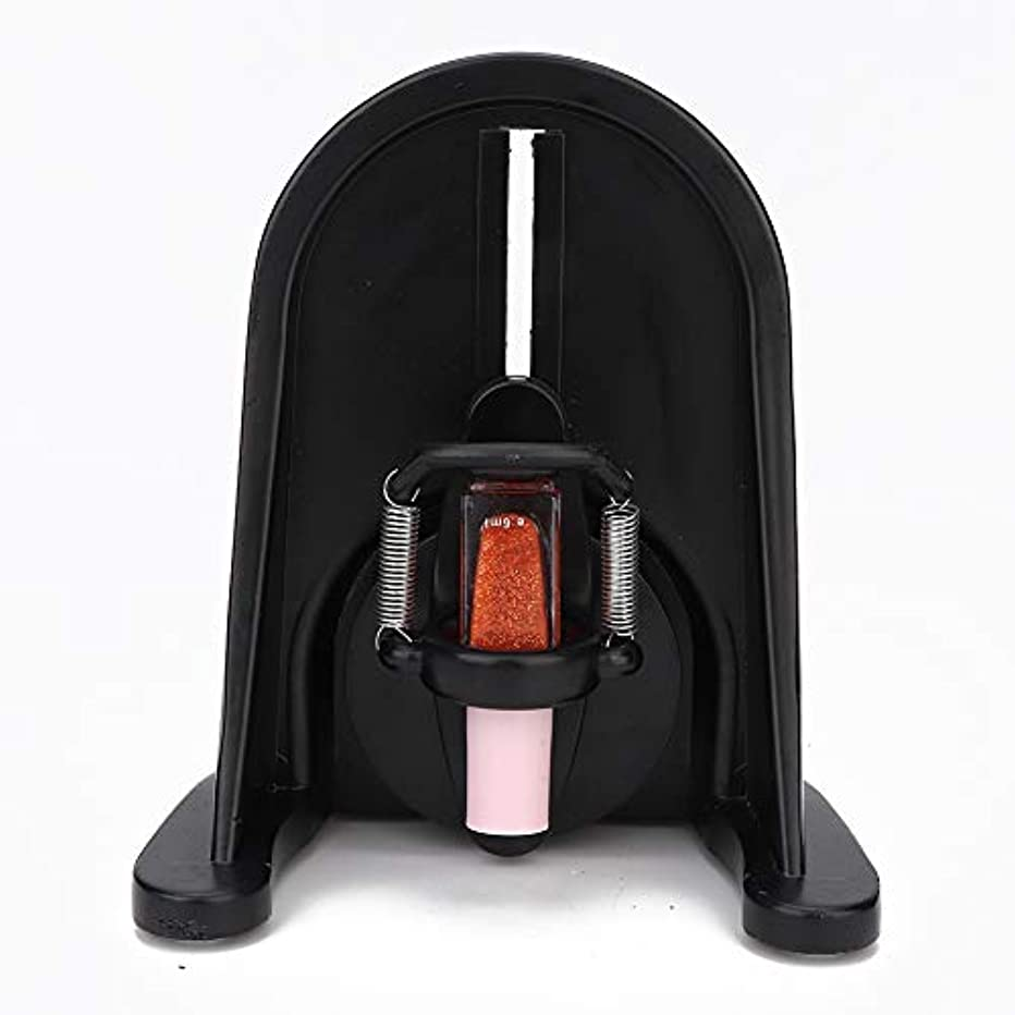 知覚できるトイレ材料マニキュアシェーカーネイルジェルピグメントシェーカー液体ボトルシェーキングマシン、調整可能なゲルポリッシュワニスボトルシェーキングマシン均等ツール(US)