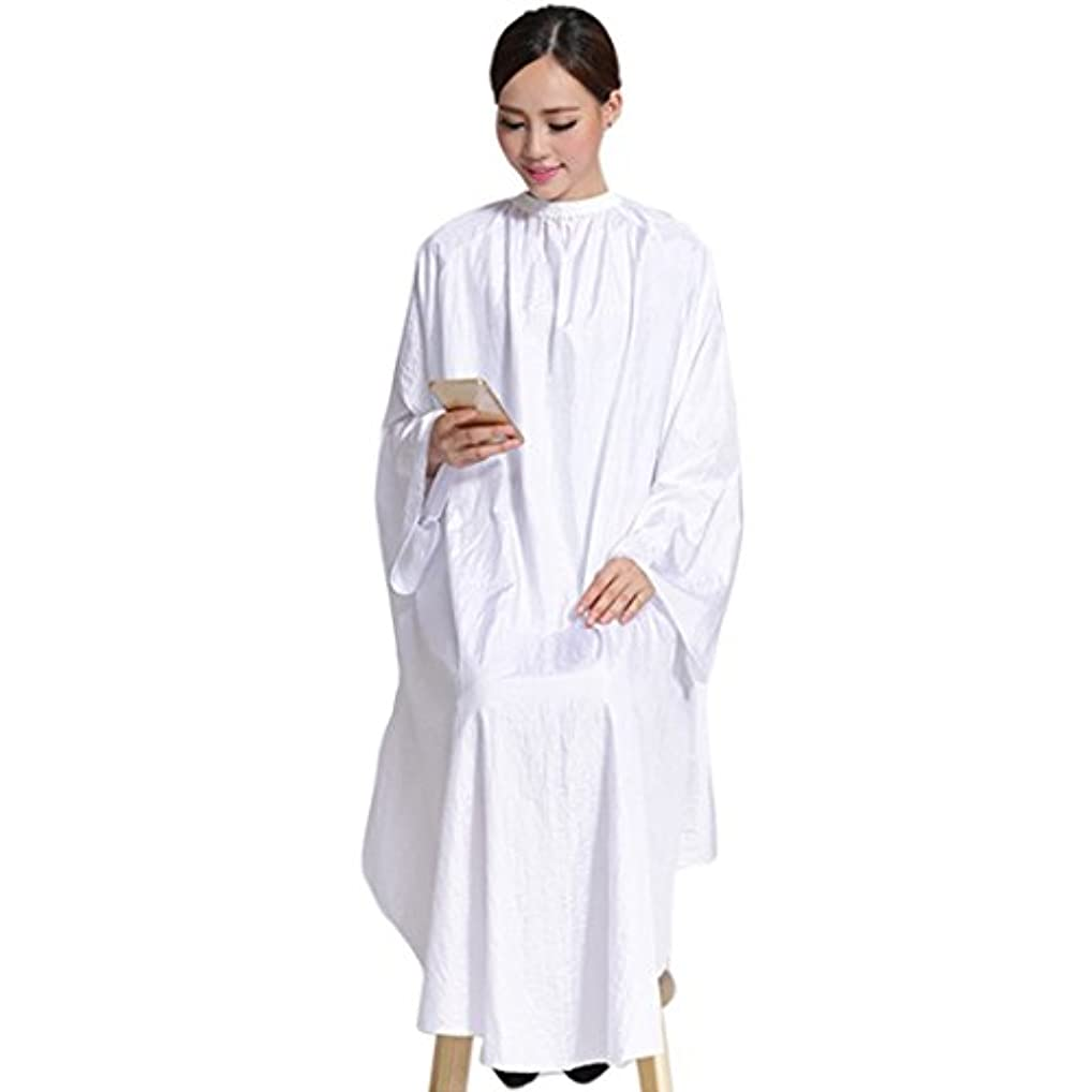 [Jiyaru] 散髪ケープ ヘアエプロン 散髪マント サロン ヘア エプロン 散髪 ヘアーエプロン 175*145cm 美容師 刈布
